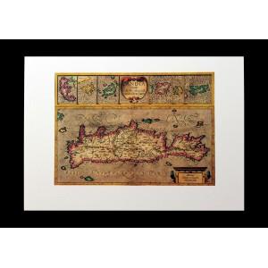 Χάρτης G.Mercator ''Candia''