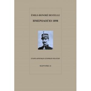 Émile-Honoré Destelle, Ημερολόγιο 1898